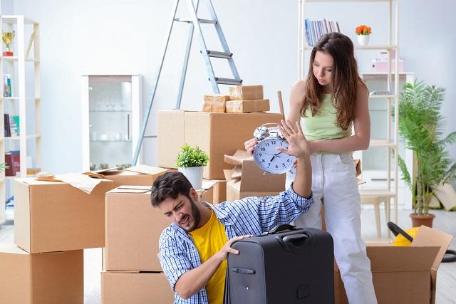 The more stuff you want to move, the more stressful it becomes
